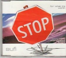(CY380) Sufi, For What It's Worth - 1998 DJ CD
