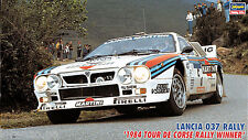 KIT LANCIA 037 RALLY 1984 TOUR DE CORSE ALEN BETTEGA 1/24 HASEGAWA 25030 CR30