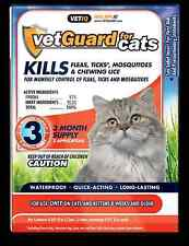 VetGuard Plus Spot-On Flea & Tick control 3 month supply for Cats