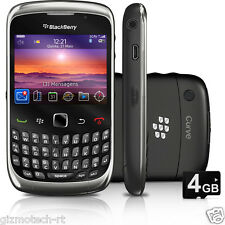 Refurbished Imported BlackBerry 9300 Curve Unlocked 3G Wifi 2MP Camera