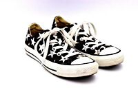 Chuck Taylor Converse All Star Shoes Black White Stars Size Mens 4 Women's 6