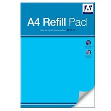 A4 Refill Pad Squares 160 Pages 80 Sheets Punched