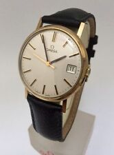 Men's Solid Gold Case Wristwatches with Acrylic Crystal
