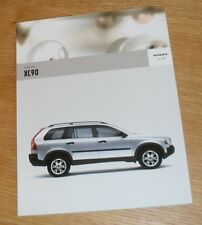 Volvo XC90 Brochure 2005
