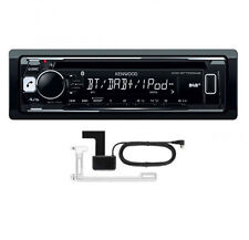 KENWOOD KDC-BT700DAB CD MP3 USB Bluetooth estéreo de coche iPod iPhone & Dab + Antena