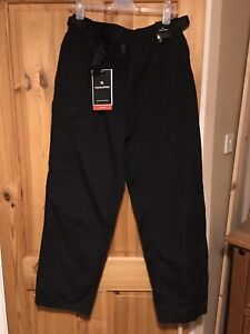 Men's Black Craghoppers Outdoor Hiking Trousers Size 34R
