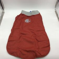 Washington State All Star Dogs Reversible Pet Coat Jacket Red Gray NCAA XXL New
