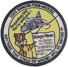 Aufnäher Patch JG 71 2009 Bangor - Turn - Around Jagdgeschwader 71 ......A4644K
