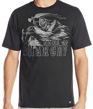 J4 - Metal Mulisha SOA Riding Reaper Tee / T-Shirt • NWT Mens Large Blk - #23566