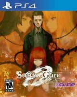Steins; Gate 0 ZERO With Art Book (PlayStation 4, PS4) USA Version Brand New