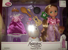 Disney Tangled Rapunzel   Deluxe Animator Doll Set NIB