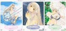 Chobits - Volume 1,2 & 3 : Persocom (DVD, 2003)