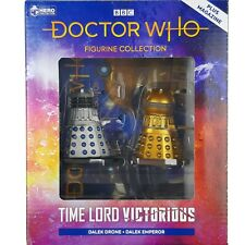 Doctor Who Time Lord Victorious DALEK DRONE & EMPEROR Figurine Set Eaglemoss #1
