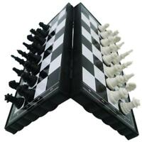 Portable Travel Magnetic Tournament Chess Set Folding Board Gift Kids Toy New