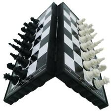 Plastic Folding Magnetic Chessboard Competition International Chess Game Toy El