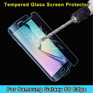 TEMPERED GLASS SCREEN PROTECTOR for SAMSUNG GALAXY S6 Edge USA