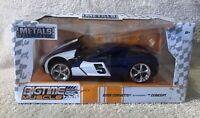 Jada Bigtime Muscle 2009 Corvette Stingray Concept Blue 1:24
