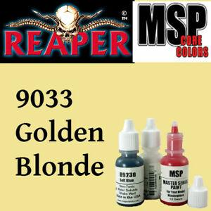 MIDNIGHT BLUE 9033 - MSP core 15ml 1/2oz paint pot peinture REAPER MINIATURE