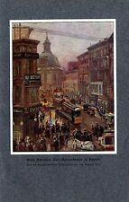 Otto Antoine:  Die Mauerstrasse in Berlin 1914