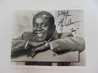 """Geraldine"" Flip Wilson Hand Signed 10X8 B&W Photo Todd Mueller COA"
