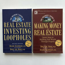 Real Estate Investing Loopholes & Making Money In Real Estate By Dolf De Roos
