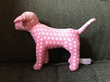 First Addition Victoria Secret Puppy Dog Pink Polkadot White Plush Doll Vs Pink