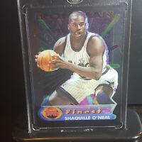 1994-95 Topps Finest Iron Man Shaquille O'Neal Shaq Acetate Lakers Magic HOF