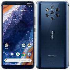 """NOKIA 9 PureView 128 Go + 6Go RAM Écran 5,99"""" OLED QHD+ Android One 10 NEUF"""