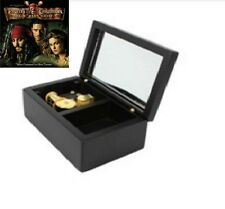 Sankyo Black Rectangle jewelry Music Box :Pirates of Caribbean - He's A Pirate