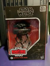 Star Wars Black 6 inch Imperial Probe Droid Probot Number D3 NIB 2020 In Hand