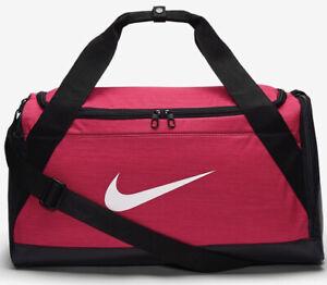 Nike Brasilia Duffel Bag Gym Club Training Sports Travel Football Bag New 40L