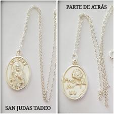 SAN JUDAS TADEO SILVER 925 ml PLATA SAN JUDAS TADEO MEDALLA SAN JUDAS