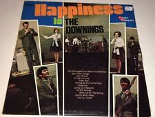Downings Happiness Is The Downings Vinyl Gospel LP 22D