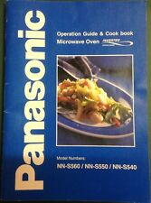 Panasonic Microwave Oven Operation Guide & Cookbook