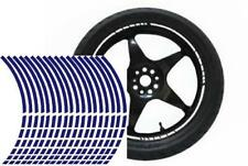NEW** Wheel Striping Stripes Stickers Decals for Motorbike or Car *9mm* Blue