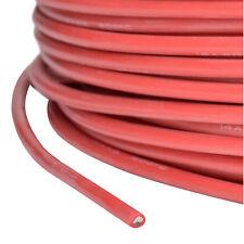 Cable silicone AWG 14 2.07 qmm super doux rouge partcore 110024