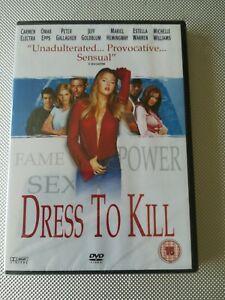 Dress To Kill NEW sealed DVD 2007