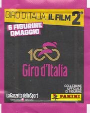 IL GIRO D'ITALIA - IL FILM USCITA 2 - BUSTINA OMAGGIO 6 FIGURINE PANINI