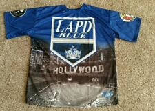 LAPD BLUE Hollywood Revolver & Athletic Club Short Sleeve Poly Shirt Men's XXL