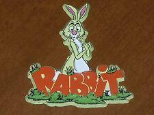 RABBIT WINNIE THE POOH Vintage DISNEY LAND RUBBER FRIDGE MAGNET Standings Board