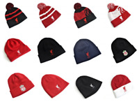 Liverpool FC Winter Beanie Turn Up Ski Bobble Liver Bird Men Women Knitted Hat
