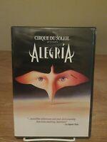 Cirque du Soleil Alegria Live in Sydney DVD VERY RARE VERSION  BRAND NEW SEALED