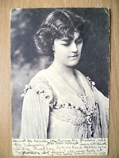 1904 Postcard- Actress MISS IRENE VANBRUGH, No.1324  + Stamp