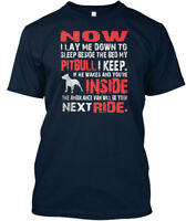 Pitbull Security T - Now I Lay Me Down To Sleep Beside The Premium Tee T-Shirt