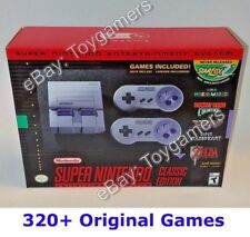 Super Nintendo Classic Mini Edition SNES System - Super NES - 320 Games -  New