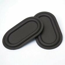 2pc 70*40mm Passive Radiator Speaker Plate Vibration Plate Auxiliary Bass Rubber
