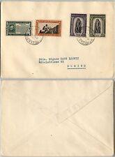 SAN MARINO-Garibaldi+Fondazione fasci+Delfico-Busta x Zurigo 31.3.1939