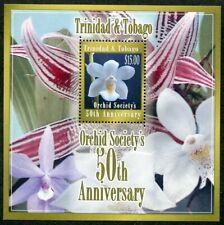 TRINIDAD & TOBAGO 791  Beautiful Mint NEVER Hinged Souvenir Sheet ORCHIDS AG