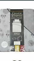 Gift girl boy PRIMARK GAME OF THRONES BEDDING QUILT COVER DUVET SET BN SINGLE
