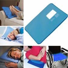 Cooling pillow mat self-cooling heat relief non toxic blue 53x30cms